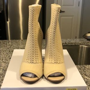 "Steve Madden ""Candid"" Nude Booties"